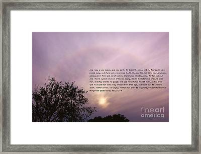 Promise Framed Print by Carolyn Wright