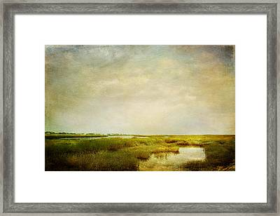 Framed Print featuring the photograph Promise Of Twilight by Karen Lynch