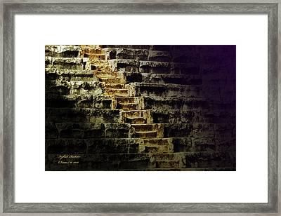 Promotion Framed Print by Itzhak Richter