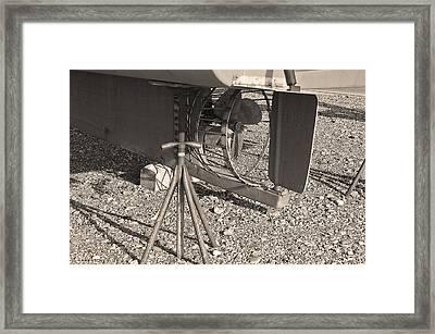 Prop Framed Print by David Rucker