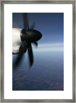 Prop Framed Print by Kim French