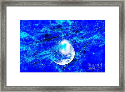 Prophecy - The Second Coming Of The Lord Framed Print by Fania Simon