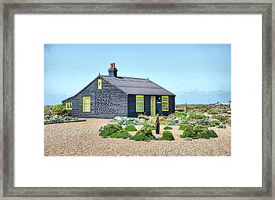 Prospect Cottage Dungeness Framed Print by Chris Thaxter
