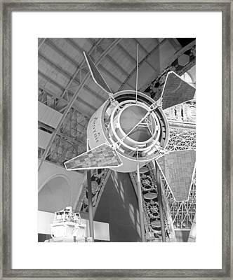 Proton 1 Exhibition Display, 1967 Framed Print by Ria Novosti