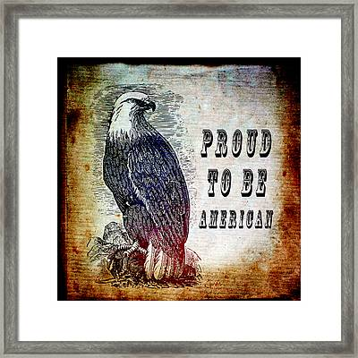 Proud Framed Print by Angelina Vick