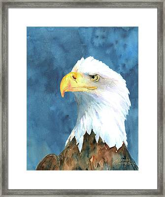 Proud Eagle Framed Print
