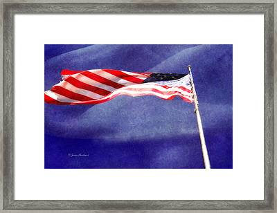 Framed Print featuring the photograph Proud by Joan Bertucci