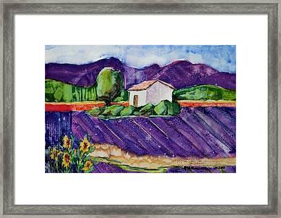 Provence Framed Print by Regina Ammerman