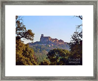 Provence Framed Print by Rogerio Mariani