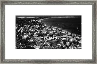Provincetown Framed Print by Raymond Earley