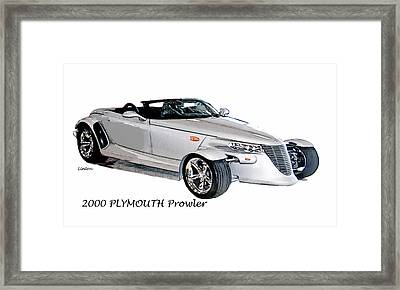 Prowler Framed Print by Larry Linton