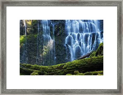Proxy Falls Framed Print by Mark Kiver