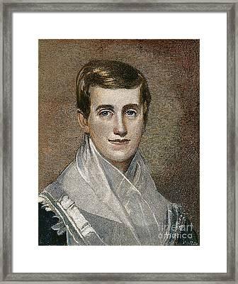 Prudence Crandall Framed Print by Granger