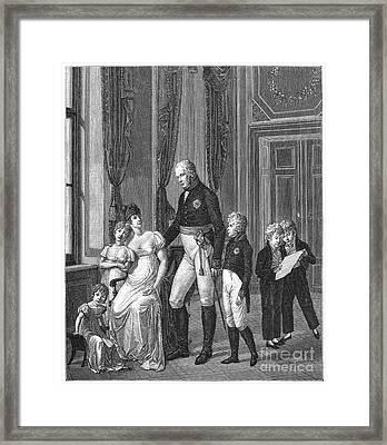Prussian Royal Family, 1807 Framed Print by Granger