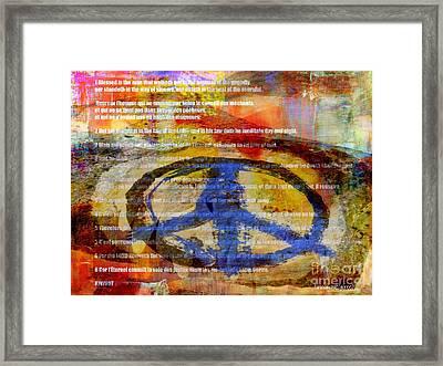 Psalm 1 Framed Print