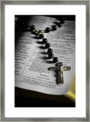 Psalm 107 Framed Print by Anthony  Birchman