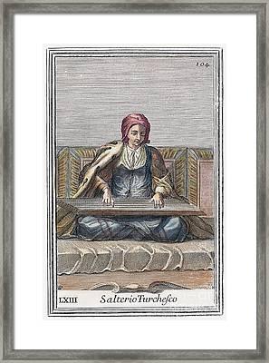 Psaltery, 1723 Framed Print