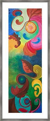 Psychadelic Dream Framed Print by Derya  Aktas