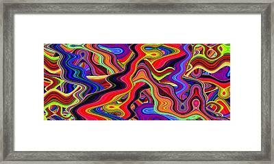 Psychedelic 60s Framed Print