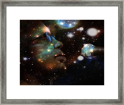 Psychedelic Soul 5 Framed Print by Dylan Chambers