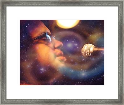 Psychedelic Soul 8 Framed Print by Dylan Chambers
