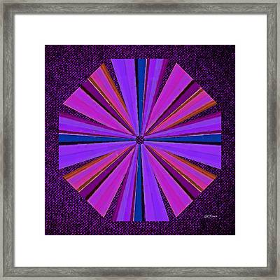 Psychedelic Windmill Framed Print