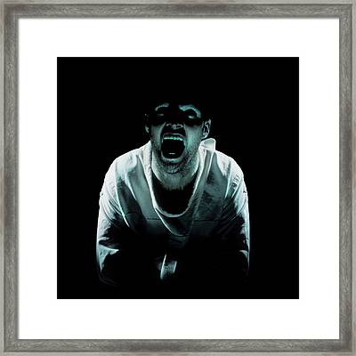 Psychiatric Patient Framed Print