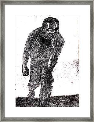 Psychic  Nightmare Framed Print