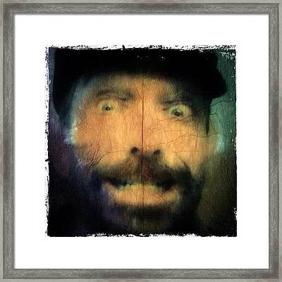 Psycho Motel - The Tailor Breaks Framed Print