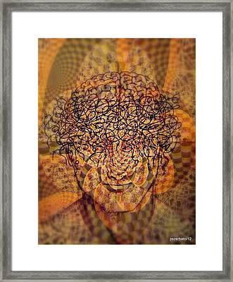 Psycho Traumatic Hypnotic Framed Print by Paulo Zerbato