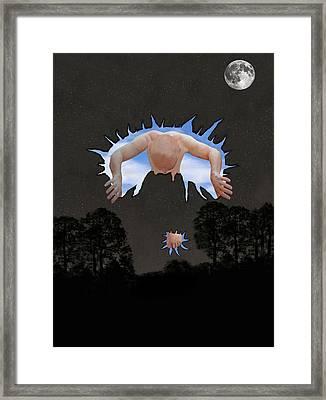 Psychological Breakthrough Framed Print