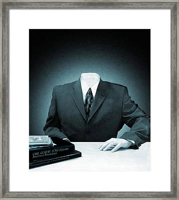 Psychological Identity Framed Print by Victor Habbick Visions