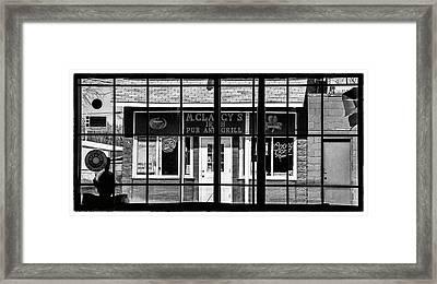 pub Framed Print by James Bull