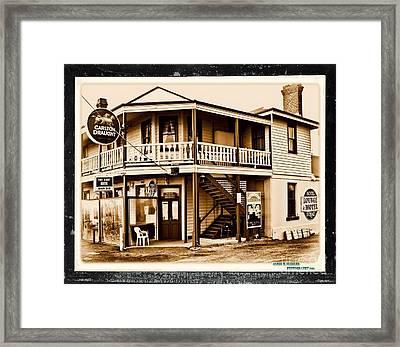 pub Framed Print