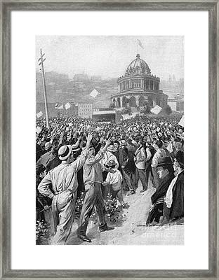 Public Acclamation, 1895 Framed Print by Granger