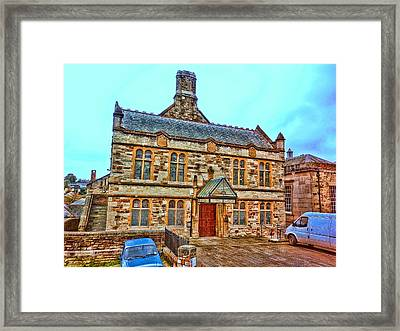 Public Rooms Framed Print by Mandy Jayne