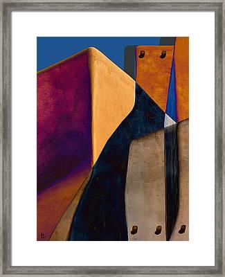Pueblo Number 2 Framed Print