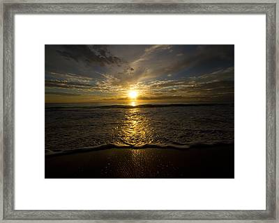 Puerto Rican Sunset II Framed Print by Tim Fitzwater