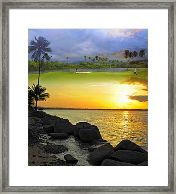 Puerto Rico Montage 3 Framed Print by Stephen Anderson