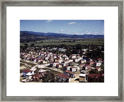 Puerto Rico. Ponce, Puerto Rico, 1941 Framed Print by Everett