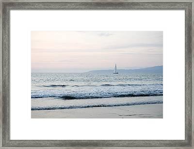 Puerto Vallarta, Mexico Seascape Framed Print by Keith Levit