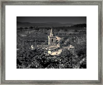 Puisserguier On The Holy Grail Route, France Framed Print by Paul Grand Image