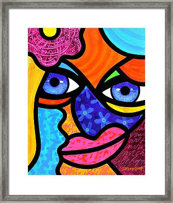 Pull Yourself Together Framed Print