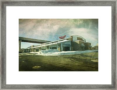 Pullman's Restaurant Framed Print by Joel Witmeyer
