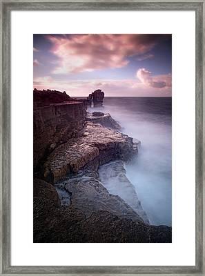 Pulpit Rock Framed Print by Nina Papiorek