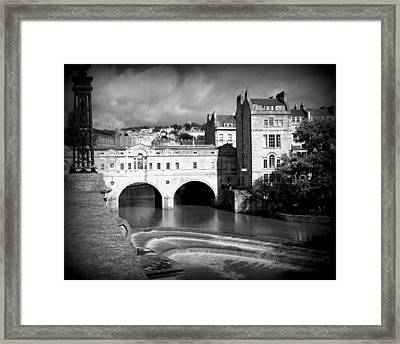 Pulteney Bridge Framed Print by Ian Kowalski