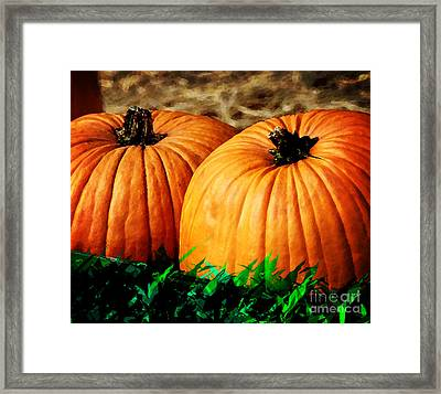 Pumkin Party Framed Print by Kyle Nichols