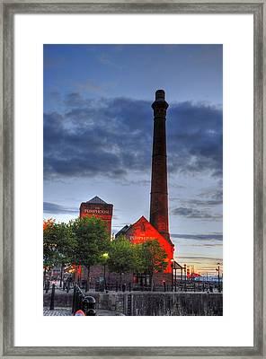Pump House Liverpool Framed Print by Barry R Jones Jr