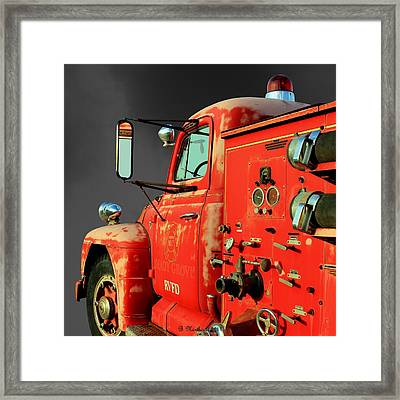 Pumper No. 2 - Retired Framed Print by Betty Northcutt