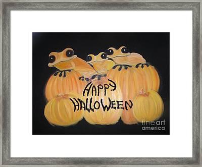 Pumpkin Two Framed Print by Rachel Carmichael